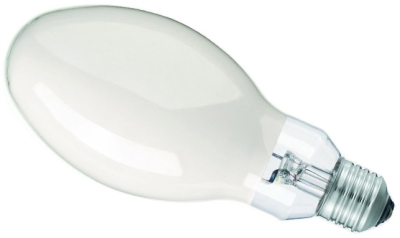This is a 400W 39-40mm GES/E40 Eliptical bulb that produces a Cool White (840) light which can be used in domestic and commercial applications