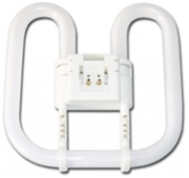 This is a 28 W GR8 Butterfly (DD) bulb that produces a Cool White (840) light which can be used in domestic and commercial applications