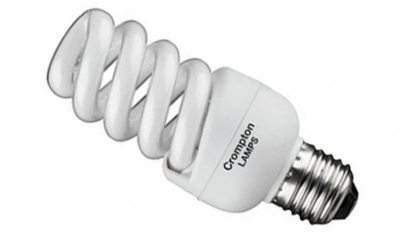 This is a 15 W 26-27mm ES/E27 Spiral bulb that produces a Very Warm White (827) light which can be used in domestic and commercial applications