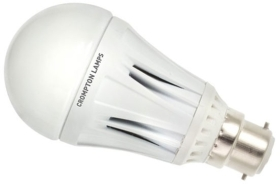 This is a 10 W 22mm Ba22d/BC Standard GLS bulb that produces a Daylight (860/865) light which can be used in domestic and commercial applications