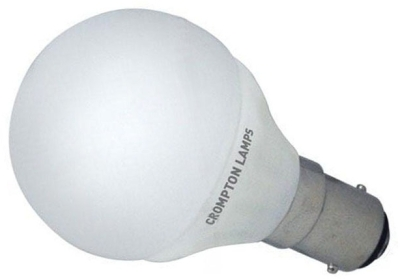 This is a 4 W 15mm Ba15d/SBC Golfball bulb that produces a Daylight (860/865) light which can be used in domestic and commercial applications