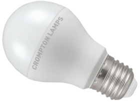 This is a 6.5 W 26-27mm ES/E27 Standard GLS bulb that produces a Very Warm White (827) light which can be used in domestic and commercial applications
