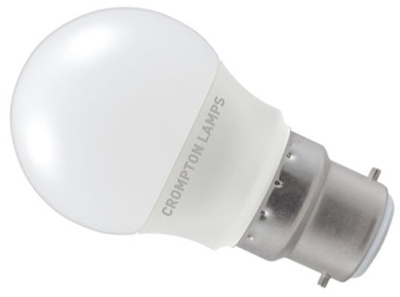 This is a 3.5 W 22mm Ba22d/BC Golfball bulb that produces a Very Warm White (827) light which can be used in domestic and commercial applications