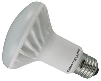 This is a 10 W Reflector/Spotlight bulb that produces a Warm White (830) light which can be used in domestic and commercial applications