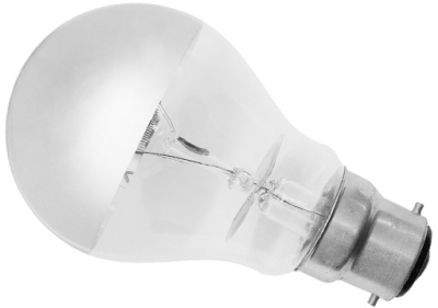 This is a 100W 22mm Ba22d/BC Standard GLS bulb that produces a Warm White (830) light which can be used in domestic and commercial applications