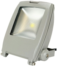 This is a 10 Watt Flood Light bulb that produces a Warm White (830) light which can be used in domestic and commercial applications