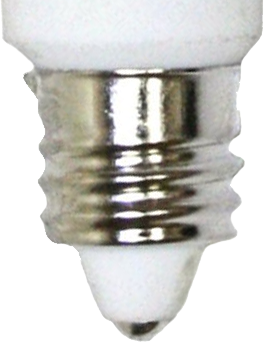 This is a 11mm E11 light bulb cap base