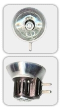 This is a 150W GY7.9 Special bulb which can be used in domestic and commercial applications