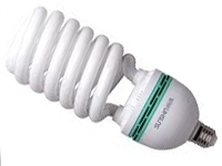 This is a 85 W 26-27mm ES/E27 Spiral bulb that produces a Daylight (860/865) light which can be used in domestic and commercial applications