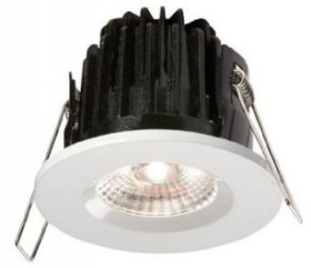 This is a 7 W Downlight bulb that produces a Cool White (840) light which can be used in domestic and commercial applications
