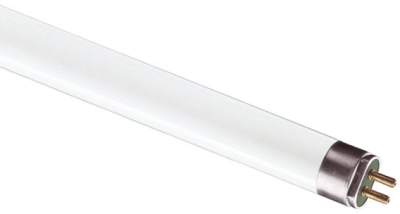 This is a 21W G5 T5 Linear (15mm Dia) bulb that produces a Daylight (860/865) light which can be used in domestic and commercial applications