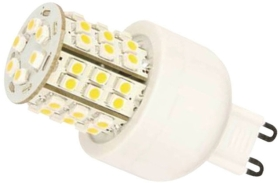 This is a 4W G9 (9mm Apart) Capsule bulb that produces a Daylight (860/865) light which can be used in domestic and commercial applications