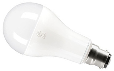 This is a 16 W 22mm Ba22d/BC Standard GLS bulb that produces a Very Warm White (827) light which can be used in domestic and commercial applications