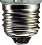 This is a 39-40mm GES/E40 light bulb cap base