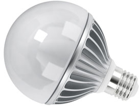 This is a 11 W 26-27mm ES/E27 Globe bulb that produces a Cool White (840) light which can be used in domestic and commercial applications