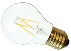 This is a 6 W 26-27mm ES/E27 Standard GLS bulb that produces a Warm White (830) light which can be used in domestic and commercial applications