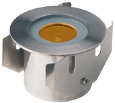 This is a 1W bulb that produces a Amber light which can be used in domestic and commercial applications