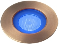 This is a 1W bulb that produces a Blue light which can be used in domestic and commercial applications