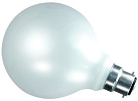 This is a 100W 22mm Ba22d/BC Globe bulb that produces a Warm White (830) light which can be used in domestic and commercial applications