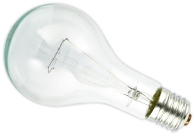This is a 500W 39-40mm GES/E40 Standard GLS bulb that produces a Clear light which can be used in domestic and commercial applications
