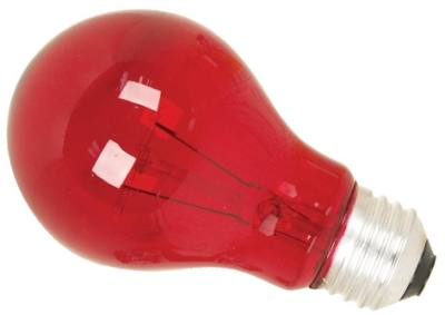 This is a 15W 26-27mm ES/E27 Standard GLS bulb that produces a Red light which can be used in domestic and commercial applications