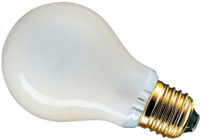This is a 40W 26-27mm ES/E27 Standard GLS bulb that produces a Pearl light which can be used in domestic and commercial applications