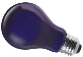 This is a 75W 26-27mm ES/E27 Standard GLS bulb that produces a Blacklight 350 light which can be used in domestic and commercial applications