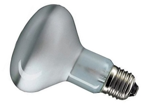 This is a 100W 26-27mm ES/E27 Reflector/Spotlight bulb that produces a Grolux light which can be used in domestic and commercial applications