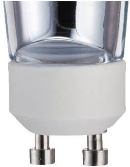 This is a GU10 light bulb cap base