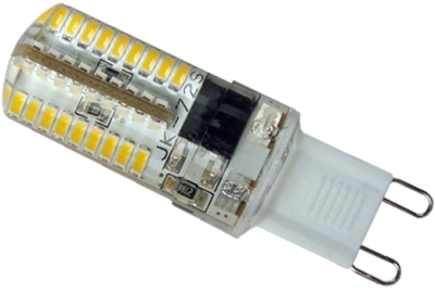 This is a 4 W G9 (9mm Apart) Capsule bulb that produces a Cool White (840) light which can be used in domestic and commercial applications