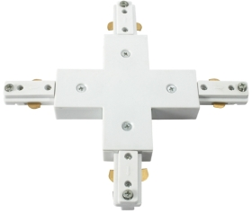 This is a White finish light fitting produced by Knightsbridge