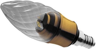 This is a 5.5 W Candle bulb that produces a Warm White (830) light which can be used in domestic and commercial applications