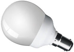 This is a 7W 15mm Ba15d/SBC Golfball bulb that produces a Very Warm White (827) light which can be used in domestic and commercial applications