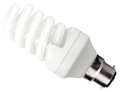 This is a 20 W 22mm Ba22d/BC Spiral bulb that produces a Cool White (840) light which can be used in domestic and commercial applications