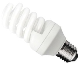 This is a 20 W 26-27mm ES/E27 Spiral bulb that produces a Cool White (840) light which can be used in domestic and commercial applications