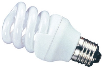 This is a 11W 26-27mm ES/E27 Spiral bulb that produces a Cool White (840) light which can be used in domestic and commercial applications