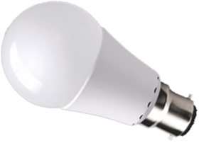 This is a 10 W 22mm Ba22d/BC Standard GLS bulb that produces a Warm White (830) light which can be used in domestic and commercial applications