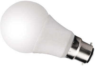 This is a 6 W 22mm Ba22d/BC Standard GLS bulb that produces a Cool White (840) light which can be used in domestic and commercial applications