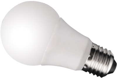 This is a 6 W 26-27mm ES/E27 Standard GLS bulb that produces a Daylight (860/865) light which can be used in domestic and commercial applications