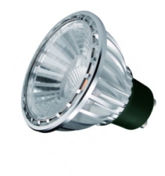 This is a 6 W GU10 Reflector/Spotlight bulb that produces a Very Warm White (827) light which can be used in domestic and commercial applications