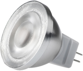 This is a 2 W GU4/GZ4 Reflector/Spotlight bulb that produces a Daylight (860/865) light which can be used in domestic and commercial applications