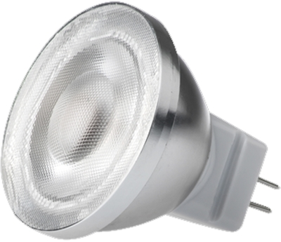 This is a 2 W GU4/GZ4 Reflector/Spotlight bulb that produces a Warm White (830) light which can be used in domestic and commercial applications