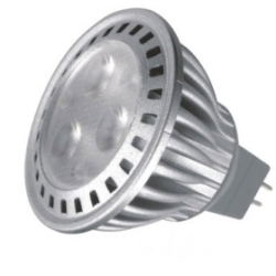 This is a 4.5 W GX5.3/GU5.3 Reflector/Spotlight bulb that produces a Cool White (840) light which can be used in domestic and commercial applications