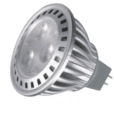 This is a 4.5 W GX5.3/GU5.3 Reflector/Spotlight bulb that produces a Daylight (860/865) light which can be used in domestic and commercial applications