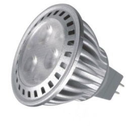 This is a 4.5 W GX5.3/GU5.3 Reflector/Spotlight bulb that produces a Warm White (830) light which can be used in domestic and commercial applications