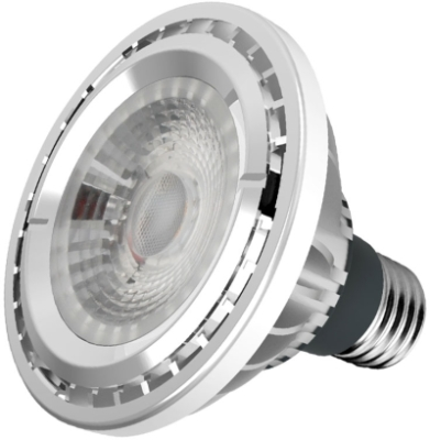 This is a 10 W 26-27mm ES/E27 Reflector/Spotlight bulb that produces a Warm White (830) light which can be used in domestic and commercial applications