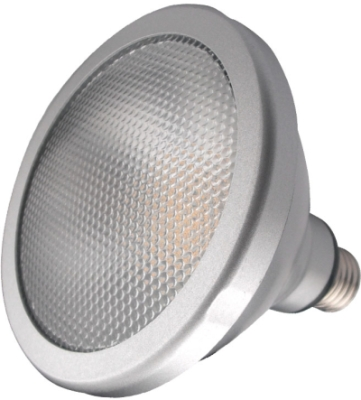 This is a 15 W 26-27mm ES/E27 Reflector/Spotlight bulb that produces a Daylight (860/865) light which can be used in domestic and commercial applications