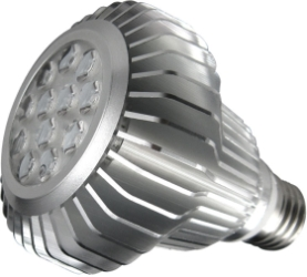 This is a 11 W 26-27mm ES/E27 Reflector/Spotlight bulb that produces a Warm White (830) light which can be used in domestic and commercial applications