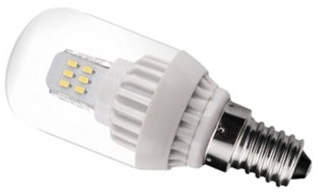 This is a 2 W Pygmy bulb that produces a Warm White (830) light which can be used in domestic and commercial applications