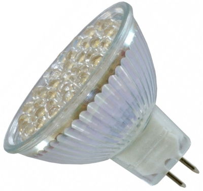 This is a 3W Reflector/Spotlight bulb that produces a Warm White (830) light which can be used in domestic and commercial applications
